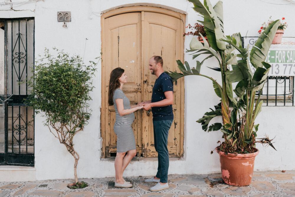 Pregnancy shoot in Andalusia Estepona Spain