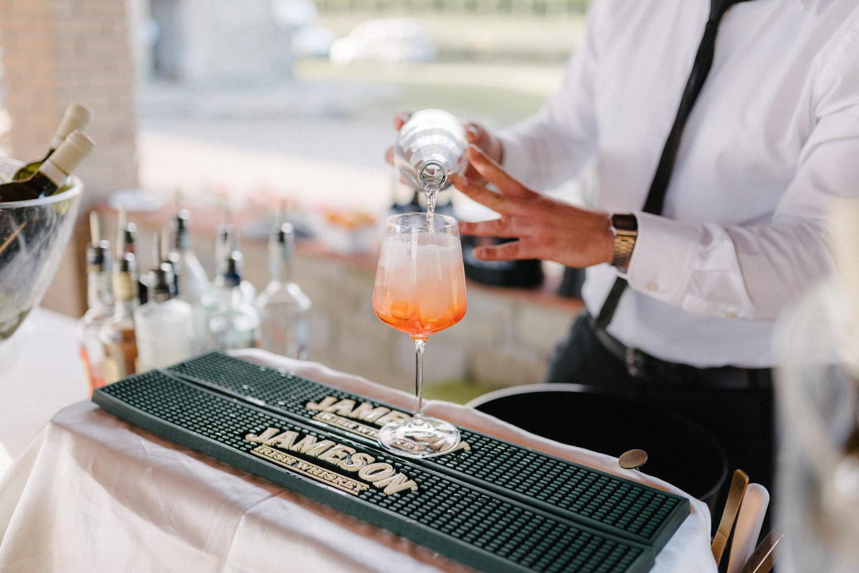 Tuscany Wedding reception