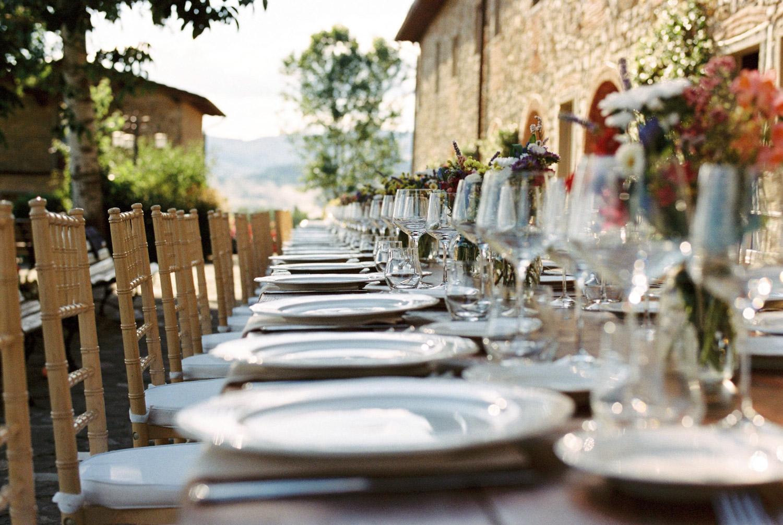 Rustic wedding in Tuscany