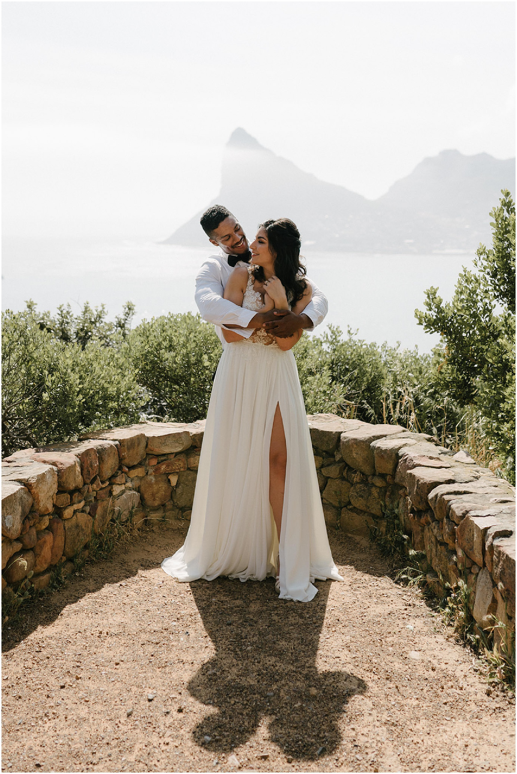 Touched By The Sea South Africa Maaike Kolner Photography,Vintage Boat Neck Wedding Dress