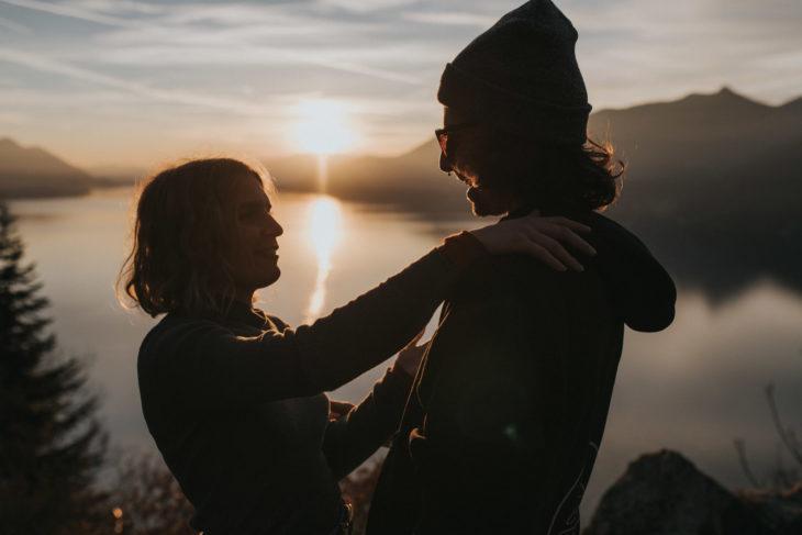 Couple shoot Lake Maggiore Italy