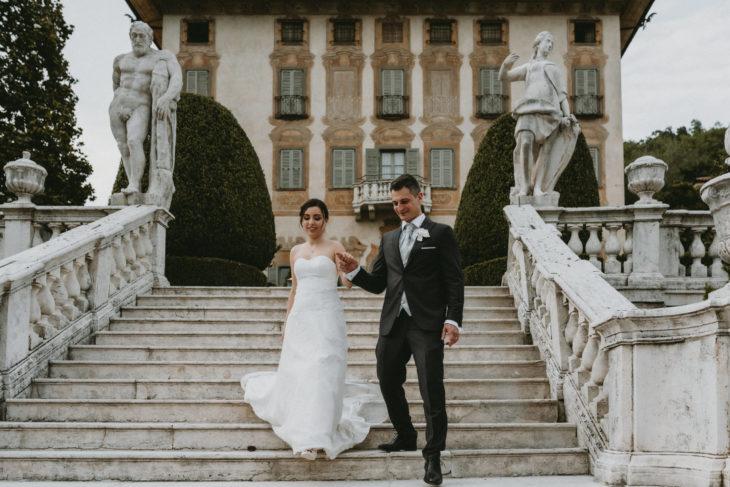 Spring wedding Villa Canton
